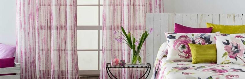 Las mejores telas para cortinas casa y telas for Telas cortinas salon