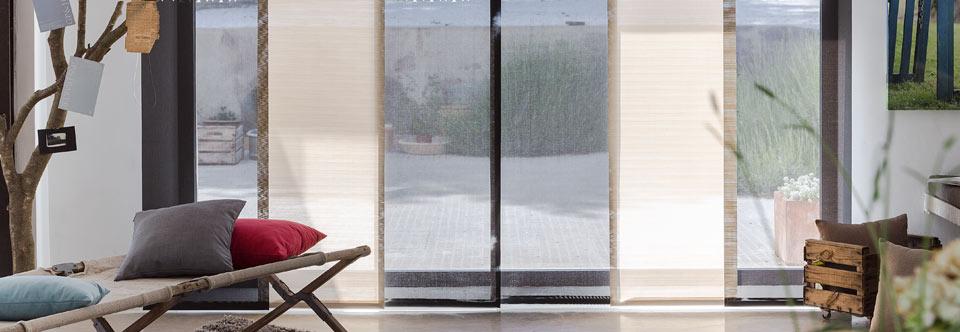 Ventajas de los paneles japoneses casa y telas for Telas para paneles japoneses